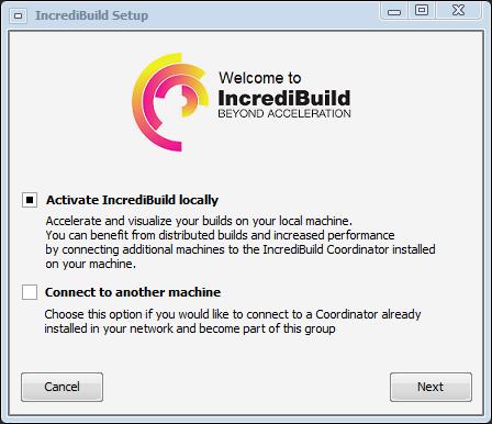 IncrediBuild Setup 1